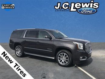 2015 Iridium Metallic GMC Yukon XL Denali SUV EcoTec3 6.2L V8 Engine RWD Automatic