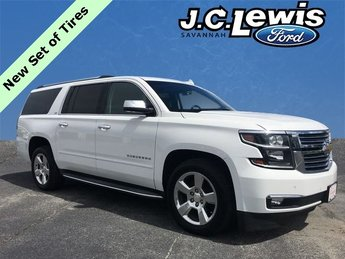 2015 Summit White Chevy Suburban LTZ 4 Door 4X4 V8 Engine SUV Automatic