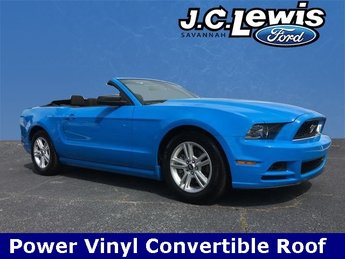 2014 Grabber Blue Ford Mustang V6 Premium 2 Door Automatic 3.7L V6 Ti-VCT 24V Engine