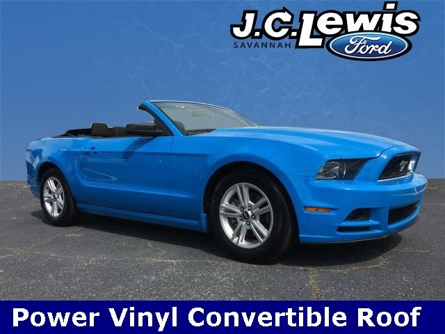2014 Grabber Blue Ford Mustang V6 Premium 2 Door 3.7L V6 Ti-VCT 24V Engine RWD Convertible Automatic