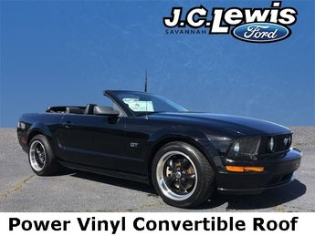 2008 Black Clearcoat Ford Mustang GT Premium Automatic Convertible 2 Door 4.6L V8 24V Engine