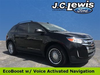 2013 Tuxedo Black Metallic Ford Edge SEL FWD Automatic EcoBoost 2.0L I4 GTDi DOHC Turbocharged VCT Engine
