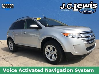 2014 Ingot Silver Metallic Ford Edge SEL SUV 4 Door FWD Automatic