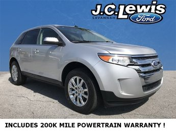 2014 Ingot Silver Metallic Ford Edge Limited 4 Door SUV 3.5L V6 Ti-VCT Engine Automatic