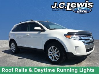 2013 White Platinum Tri-Coat Metallic Ford Edge Limited 4 Door SUV Automatic