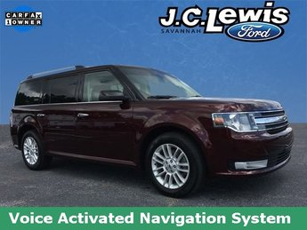 2017 Ruby Red Metallic Tinted Clearcoat Ford Flex SEL SUV FWD 3.5L V6 Ti-VCT Engine 4 Door Automatic