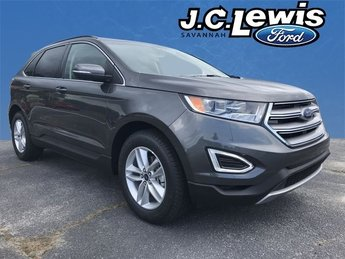 2018 Magnetic Metallic Ford Edge SEL EcoBoost 2.0L I4 GTDi DOHC Turbocharged VCT Engine Automatic 4 Door FWD SUV