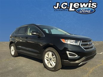 2018 Shadow Black Ford Edge SEL FWD Automatic 4 Door EcoBoost 2.0L I4 GTDi DOHC Turbocharged VCT Engine SUV