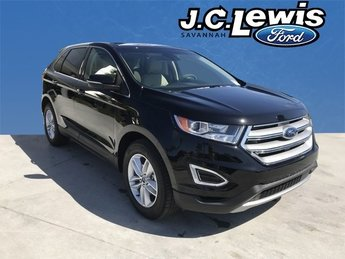 2018 Shadow Black Ford Edge SEL SUV Automatic 4 Door FWD EcoBoost 2.0L I4 GTDi DOHC Turbocharged VCT Engine