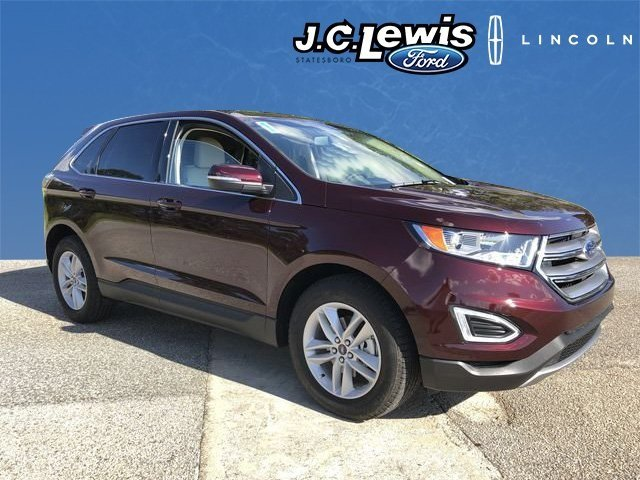 2018 Burgundy Velvet Metallic Tinted Clearcoat Ford Edge SEL SUV 4 Door Automatic
