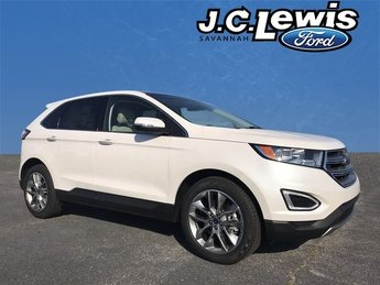 2018 Ford Edge Titanium FWD SUV 4 Door 3.5L V6 Ti-VCT Engine Automatic