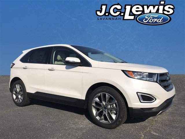2018 Ford Edge Titanium Automatic FWD 4 Door SUV 3.5L V6 Ti-VCT Engine