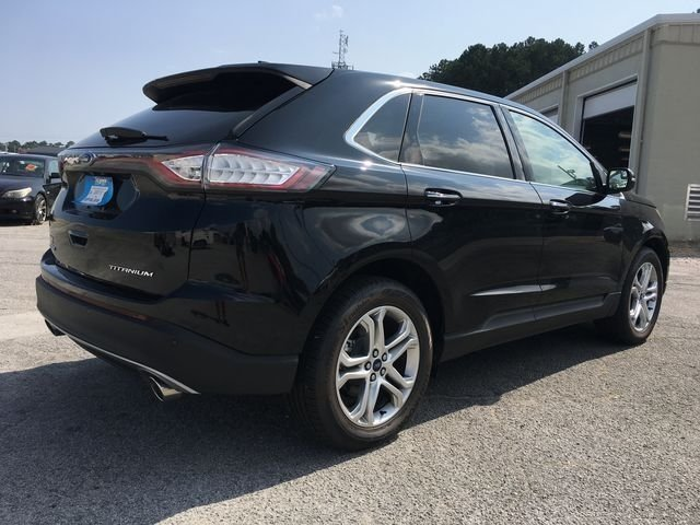 2018 Ford Edge Titanium 4 Door FWD Automatic SUV