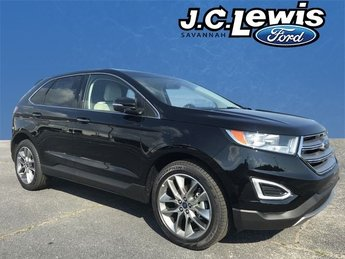 2018 Ford Edge Titanium EcoBoost 2.0L I4 GTDi DOHC Turbocharged VCT Engine Automatic SUV 4 Door FWD