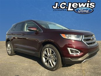 2018 Ford Edge Titanium EcoBoost 2.0L I4 GTDi DOHC Turbocharged VCT Engine 4 Door Automatic