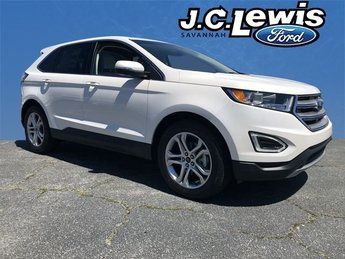 2018 Ford Edge Titanium SUV 4 Door EcoBoost 2.0L I4 GTDi DOHC Turbocharged VCT Engine