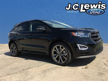 2018 Ford Edge Sport EcoBoost 2.7L V6 GTDi DOHC 24V Twin Turbocharged Engine 4 Door AWD