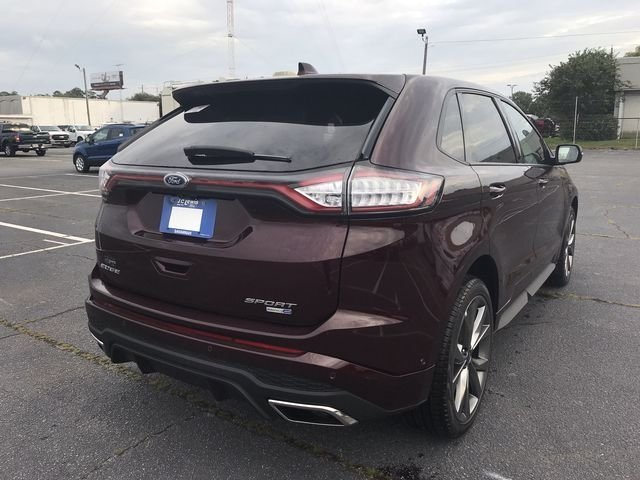 2018 Ford Edge Sport EcoBoost 2.7L V6 GTDi DOHC 24V Twin Turbocharged Engine AWD Automatic SUV 4 Door