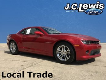 2015 Crystal Red Tintcoat Chevy Camaro 1LT Coupe Automatic 2 Door RWD 3.6L V6 DGI DOHC VVT Engine