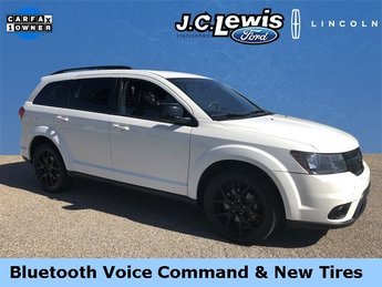 2017 Vice White Dodge Journey SXT 2.4L I4 DOHC 16V Dual VVT Engine 4 Door FWD