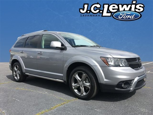 2016 Billet Silver Metallic Clearcoat Dodge Journey Crossroad FWD Automatic 4 Door SUV 3.6L V6 24V VVT Engine