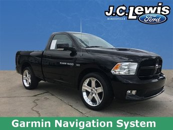 2012 Ram 1500 R/T Truck RWD HEMI 5.7L V8 Multi Displacement VVT Engine 2 Door