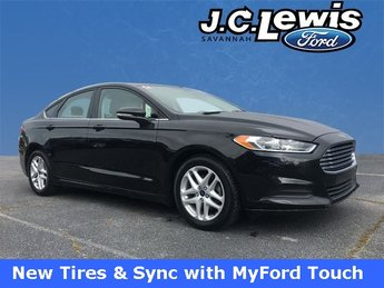 2015 Tuxedo Black Ford Fusion SE FWD 2.5L iVCT Engine 4 Door Automatic