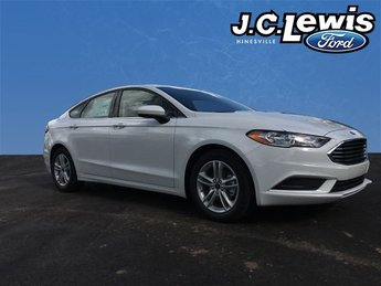 2018 Ford Fusion SE EcoBoost 1.5L I4 GTDi DOHC Turbocharged VCT Engine FWD 4 Door Sedan