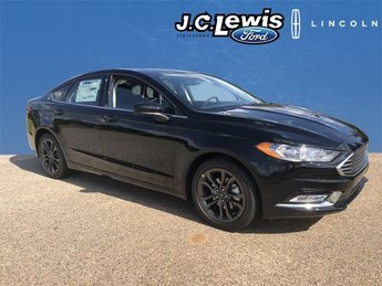 2018 Shadow Black Ford Fusion SE Automatic 4 Door EcoBoost 1.5L I4 GTDi DOHC Turbocharged VCT Engine Sedan FWD
