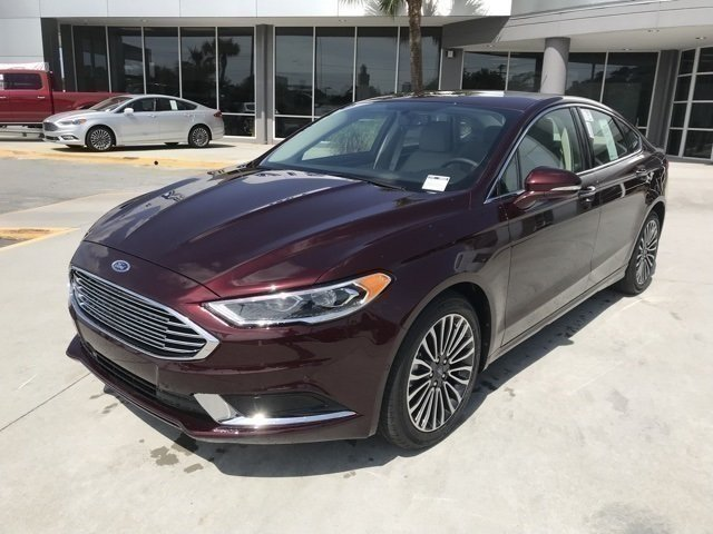 2018 Ford Fusion SE Sedan EcoBoost 1.5L I4 GTDi DOHC Turbocharged VCT Engine Automatic FWD 4 Door