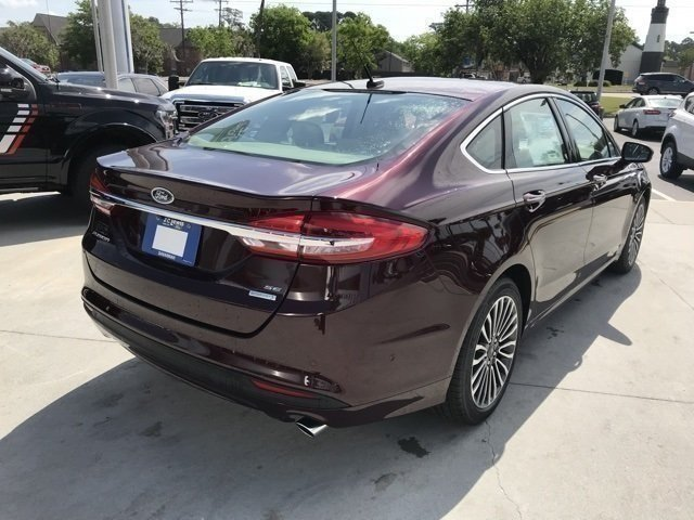 2018 Ford Fusion SE Sedan EcoBoost 1.5L I4 GTDi DOHC Turbocharged VCT Engine Automatic