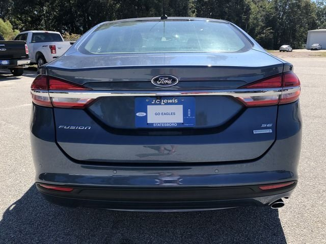 2018 Ford Fusion SE 4 Door Sedan FWD EcoBoost 1.5L I4 GTDi DOHC Turbocharged VCT Engine Automatic
