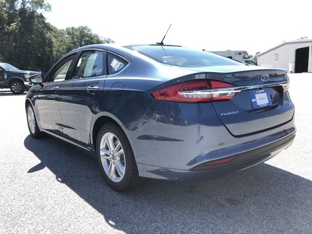 2018 Ford Fusion SE EcoBoost 1.5L I4 GTDi DOHC Turbocharged VCT Engine Automatic FWD Sedan
