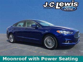 2016 Ford Fusion Titanium 4 Door Automatic FWD