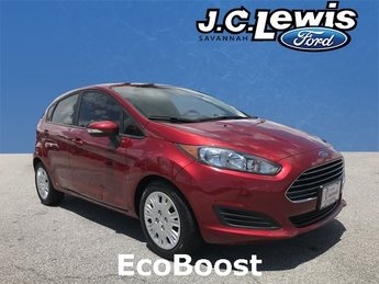 2015 Ford Fiesta SE 4 Door EcoBoost 1.0L I3 GTDi DOHC Turbocharged VCT Engine Manual
