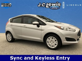 2016 Ingot Silver Metallic Ford Fiesta S Automatic 1.6L I4 Ti-VCT Engine 4 Door