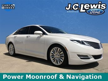 2016 Lincoln MKZ Base 3.7L V6 Ti-VCT 24V Engine 4 Door FWD Automatic Sedan