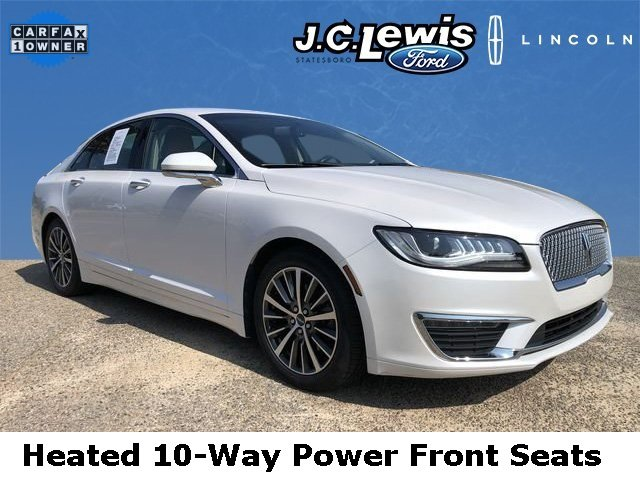 2017 Lincoln MKZ Premiere 2.0L GTDi Engine FWD 4 Door Sedan Automatic