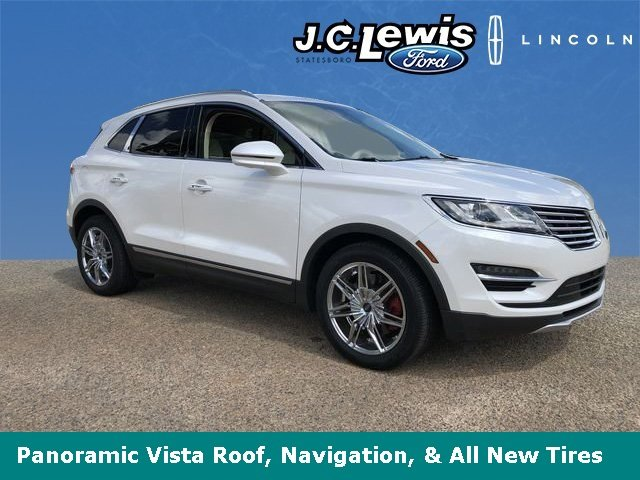 2015 Lincoln MKC Reserve EcoBoost 2.0L I4 GTDi DOHC Turbocharged VCT Engine SUV 4 Door Automatic