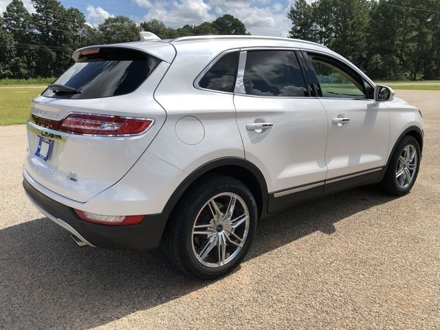 2015 White Platinum Metallic Tri-Coat Lincoln MKC Reserve EcoBoost 2.0L I4 GTDi DOHC Turbocharged VCT Engine FWD Automatic SUV