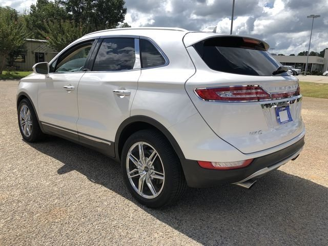 2015 White Platinum Metallic Tri-Coat Lincoln MKC Reserve FWD Automatic 4 Door EcoBoost 2.0L I4 GTDi DOHC Turbocharged VCT Engine