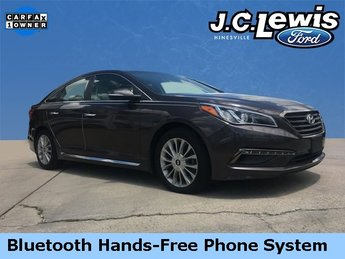 2015 Dark Truffle Hyundai Sonata Limited Sedan Automatic FWD