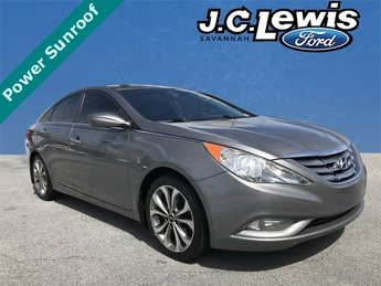 2013 Harbor Gray Metallic Hyundai Sonata Limited 2.0T 4 Door Sedan Automatic FWD 2.0L 4-Cylinder DGI Turbocharged Engine