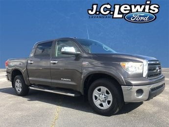 2012 Magnetic Gray Metallic Toyota Tundra Grade Truck 4 Door i-Force 5.7L V8 DOHC Engine