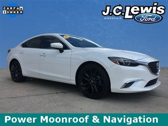 2016 Snowflake White Pearl Mica Mazda Mazda6 i Grand Touring FWD Automatic 2.5L 4-Cylinder DOHC Engine Sedan 4 Door