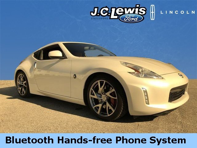 2013 Pearl White Nissan 370Z Touring RWD 2 Door Coupe 3.7L V6 DOHC 24V Engine