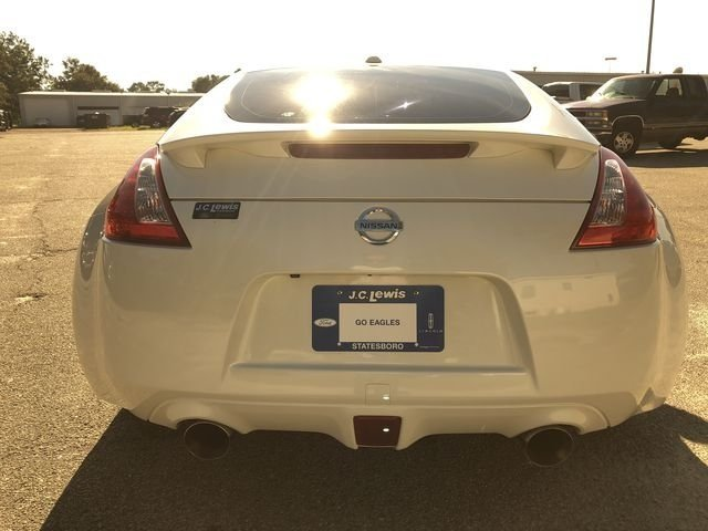 2013 Pearl White Nissan 370Z Touring RWD 2 Door 3.7L V6 DOHC 24V Engine Automatic Coupe