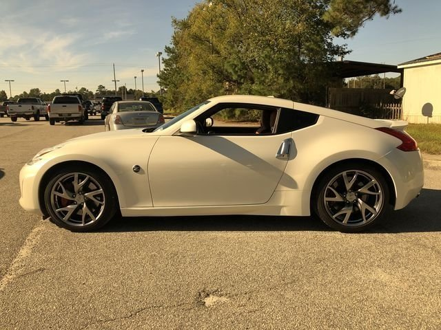 2013 Pearl White Nissan 370Z Touring 2 Door Coupe Automatic RWD