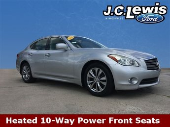 2012 Liquid Platinum Infiniti M37 Base 4 Door 3.7L V6 with VVEL Engine RWD Sedan Automatic