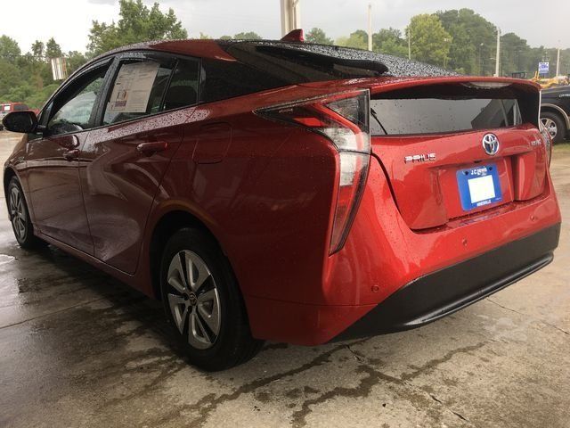 2017 Hypersonic Red Toyota Prius Four 4 Door Hatchback Automatic (CVT) FWD